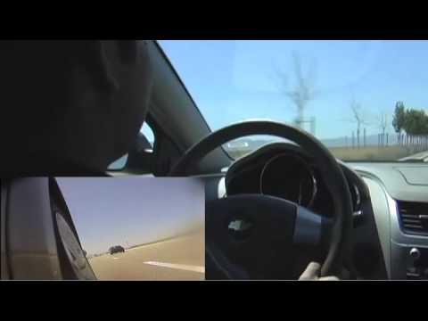 Vegas '09 - Honda Musical Road (Lancaster, CA)