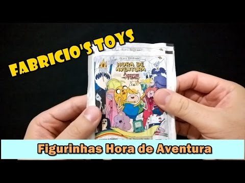 Figurinhas Hora de Aventura - Cartoon Network - Panini - 2014 - Unboxing e Review
