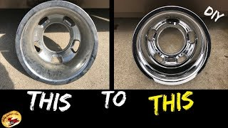 How To Buff & Polish Any Wheel or Rim or Simulator... Chrome, Aluminum, Powder Coated