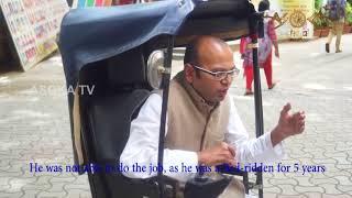 World Positive Thinking Day: 13th September: Inspiring Life of Lecturer Ravi Shabadi