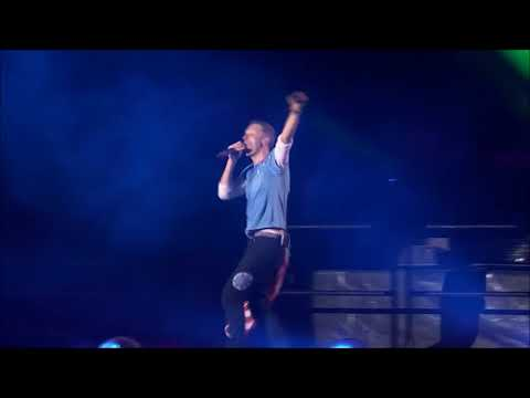 """""""A Sky Full Of Stars"""" - Coldplay Live! (HD) Rose Bowl AHFOD Tour"""