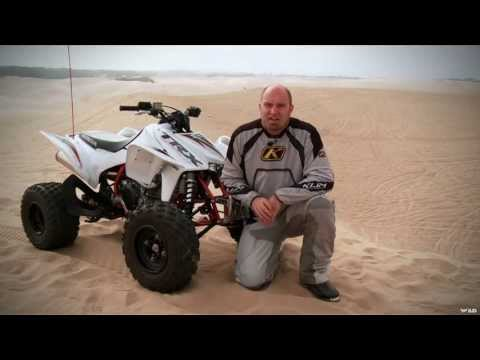 Dirt Trax Television - TRX 450 Review