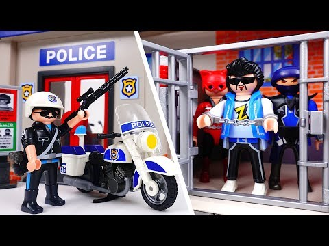 Bad Guy Escape From Police Station~! Amusement Park is in Danger