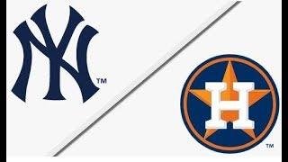 New York Yankees vs Houston Astros   ALCS Game 1 Full Game Highlights