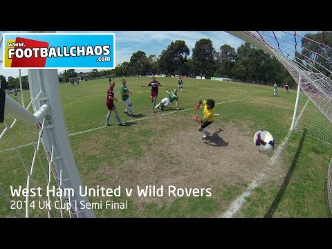 2014 UK Cup - West Ham United v Wild Rovers