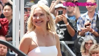 Kate Hudson Speaks At Goldie Hawn & Kurt Russell