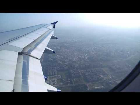 Take off from New delhi Airport: