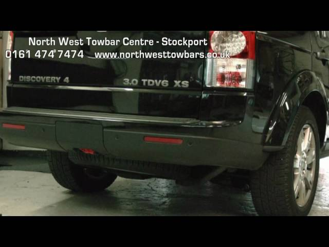 Towbar Video - Land Rover Discovery Detachable - YouTube