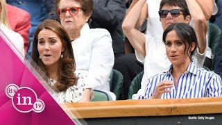 Meghan Markle: Fashion- Fauxpas in Wimbledon!