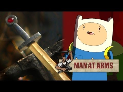 Finn's Golden Sword (Adventure Time) - MAN AT ARMS