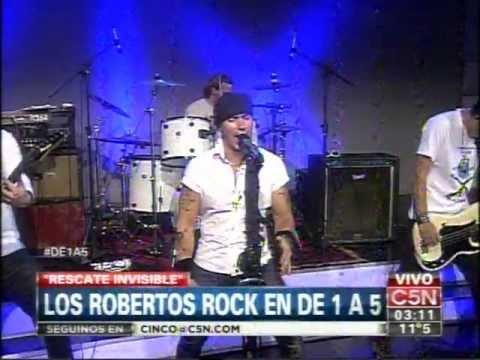 C5N – MUSICA: LOS ROBERTOS ROCK EN DE 1 A 5