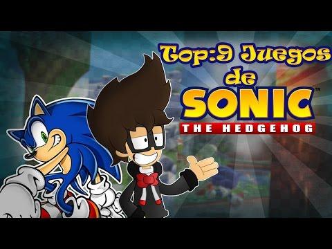 Top 9 :Mis juegos favoritos de Sonic   Markylive