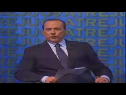 44ore senza dormire: Silvio Berlusconi è superman!! (9 Set 2009)