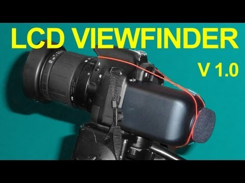 Homemade DSLR LCD Viewfinder - DIY Loupe - QUICK FX