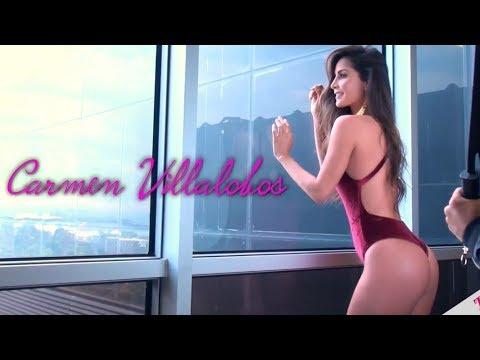 Carmen Villalobos backstage lencería tvynovelas - la 'reina del rating'