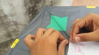 how to tie kite | kite fighting tricks | how to fly kite