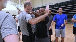 ACC referee camp prepares officials on new game rules at Le Moyne College
