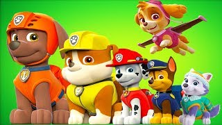 Paw Patrol Mission Paw - Air and Sea Adventures Rescue Compilation #2 - Fun Pet Kids Games