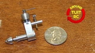 The Smallest RC Engines in the World at the Southeastern Model Show 2014