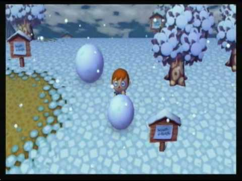 Animal Crossing: City Folk - Building a Perfect Snowman