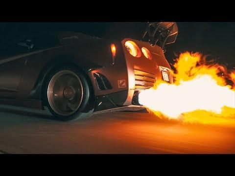 FIRE BREATHING NISSAN GTR R35 OVERKILL