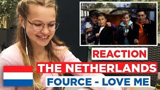 REACTION: FOURCE - LOVE ME - THE NETHERLANDS - JUNIOR EUROVISION 2017 - JUNIORSONGFESTIVAL