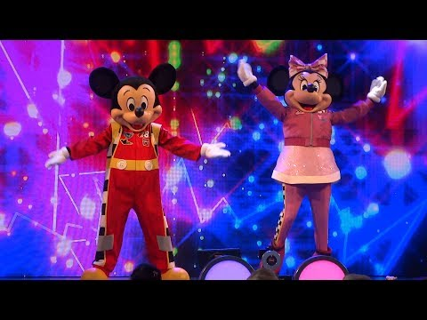 NEW Disney Junior Dance Party FULL SHOW at Disneyland