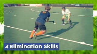 4 Elimination Skills (Seal, Aka, Turn, Bridge) - Field Hockey Technique  | Hockey Heroes TV