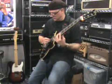 Chris Poland Eminence Speaker demo NAMM 2010
