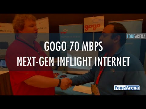 Gogo 70 Mbps Next-Gen Inflight Internet