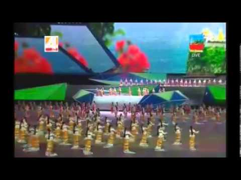 Myanmar 27th SEA Games Opening Ceremony (11/12/13)