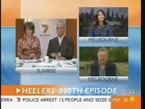 John Wood & Rachel Gordon talk about the 500th episode of Blue Heelers