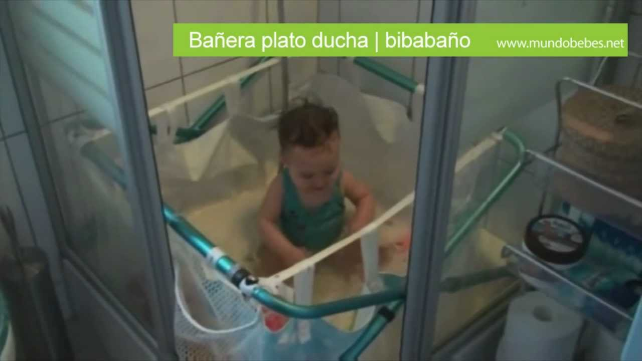 ba era plato ducha youtube On banera bebe para plato ducha