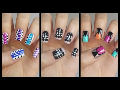 Easy Nail Art For Beginners!!! #16  | MissJenFABULOUS