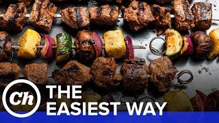 Easy Beef Shish Kebabs - How to Make The Easiest Way