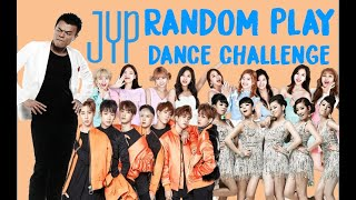 JYP ENTERTAINMENT RANDOM DANCE CHALLENGE [TWICE, GOT7, STRAY KIDS, AND MORE]