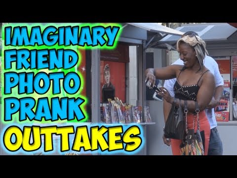 Imaginary Friend Photo Prank Outtakes
