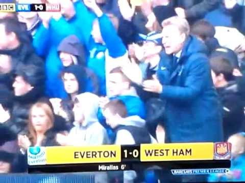 Everton v west ham 2013