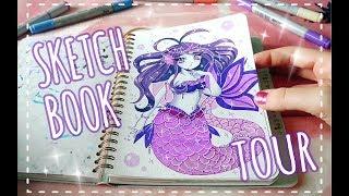 SKETCHBOOK TOUR || My Mossery Sketchbook!