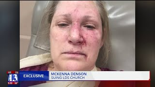 Woman suing LDS church reports attacks