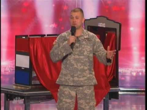 Oregon Army National Guard Soldier finalist on America's Got Talent