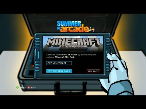 Minecraft Summer of Arcade Skin Pack