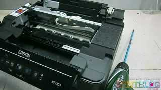 Разборка EPSON XP-103, 203, 207, 303, 306, 313, 406, 413, SX230, SX235W (Disassembly Epson XP).