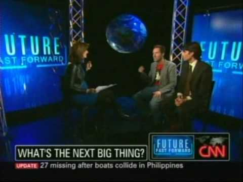 Technology in 2020 - Jeremy Gutsche (TrendHunter.com) and Nick Thompson (WIRED) on CNN