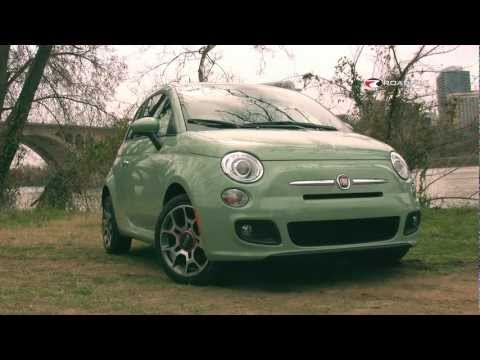 2012 Fiat 500 Test Drive & Car Review with Emme Hall by RoadflyTV