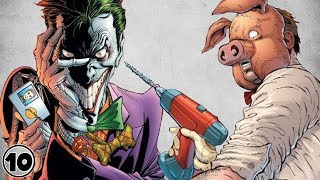Top 10 Most Dangerous Inmates In Arkham Asylum
