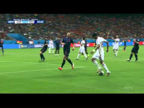 Spain Netherlands 2014 World Cup Full Game ESPN