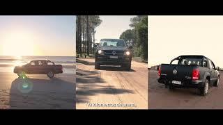 Volkswagen Amarok y su proyecto The Sand Ad con Geometry