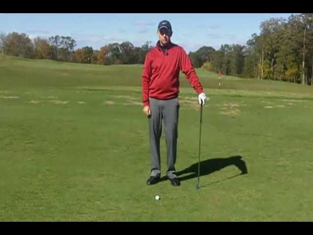 Golf Lessons - Stop hitting the ground before the ball