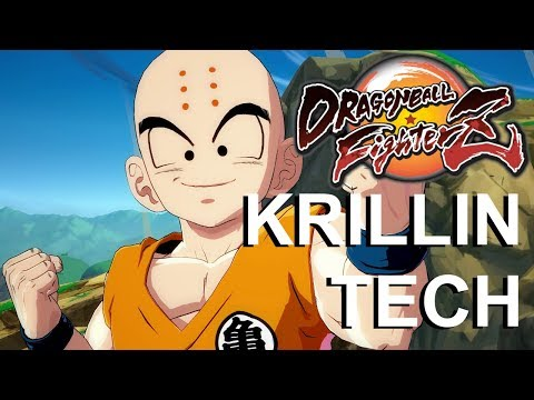 Krillin Combos and Setups - Dragon Ball FighterZ Tutorial and Beta Gameplay!